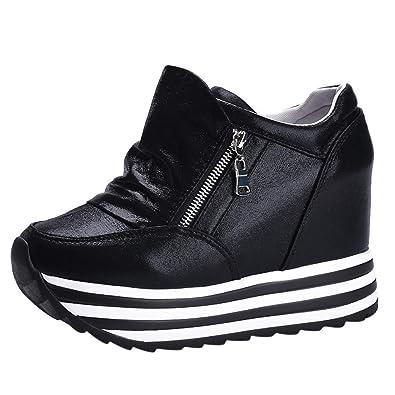 size 40 35347 6dba2 Freizeit Sneaker Damen,ABsoar Frauen Sportschuhe Round-Toe ...