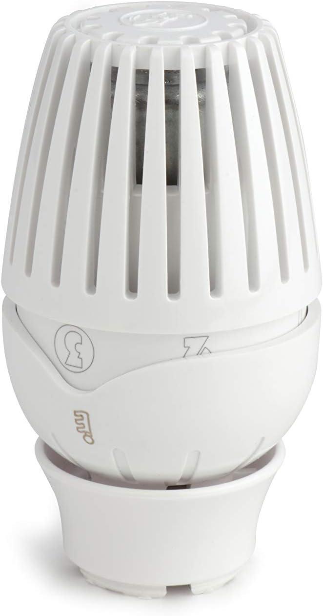 Giacomini - Grifería gas de radiador - Cabezal termostática R460 - : R460X001
