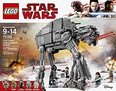 LEGO Star Wars First Order Heavy Assault Walker 75189 Building Kit (1376 Piece) from LEGO