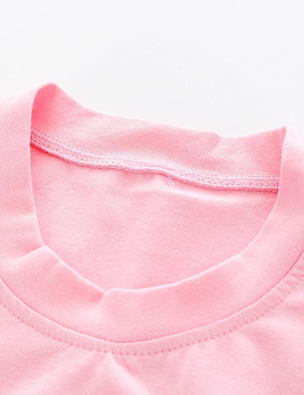 Aidio 3t 6t Girls Clothes Sets Summer Short T-Shirt Denim Skirt Outfits Puppy Cartoon