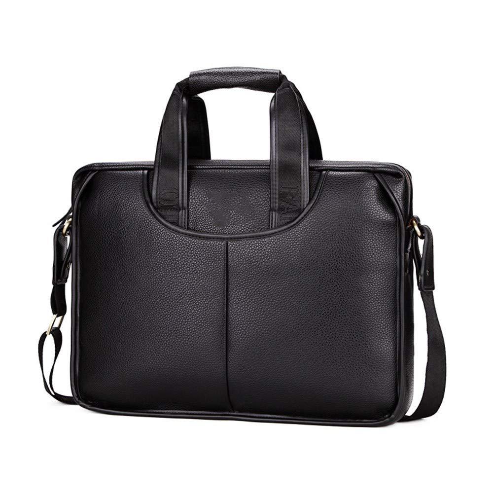 Lianaic Laptoptasche Handtasche Herren Aktentasche Herren Geschäft Tasche Pu Leder Laptop Tasche Luxus Designer Männer Schulter Messenger Bag Herren Tote