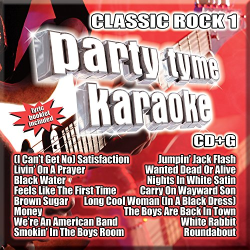Party Tyme Karaoke - Classic Rock 1 [16-song CD+G]