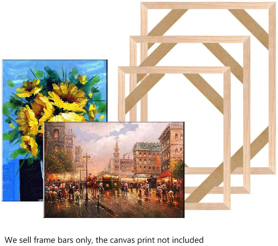 Canvas Wood Stretcher Bars Painting Wooden Frames for Gallery Wrap Oil Painting Posters Modern Life Accessory,60x120cm//24x47