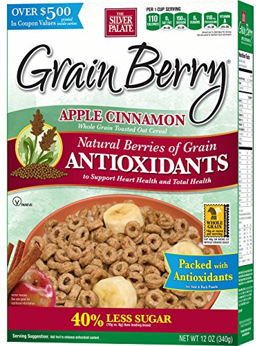 Grain Berry Cereal, Apple Cinnamon, 12 Ounce