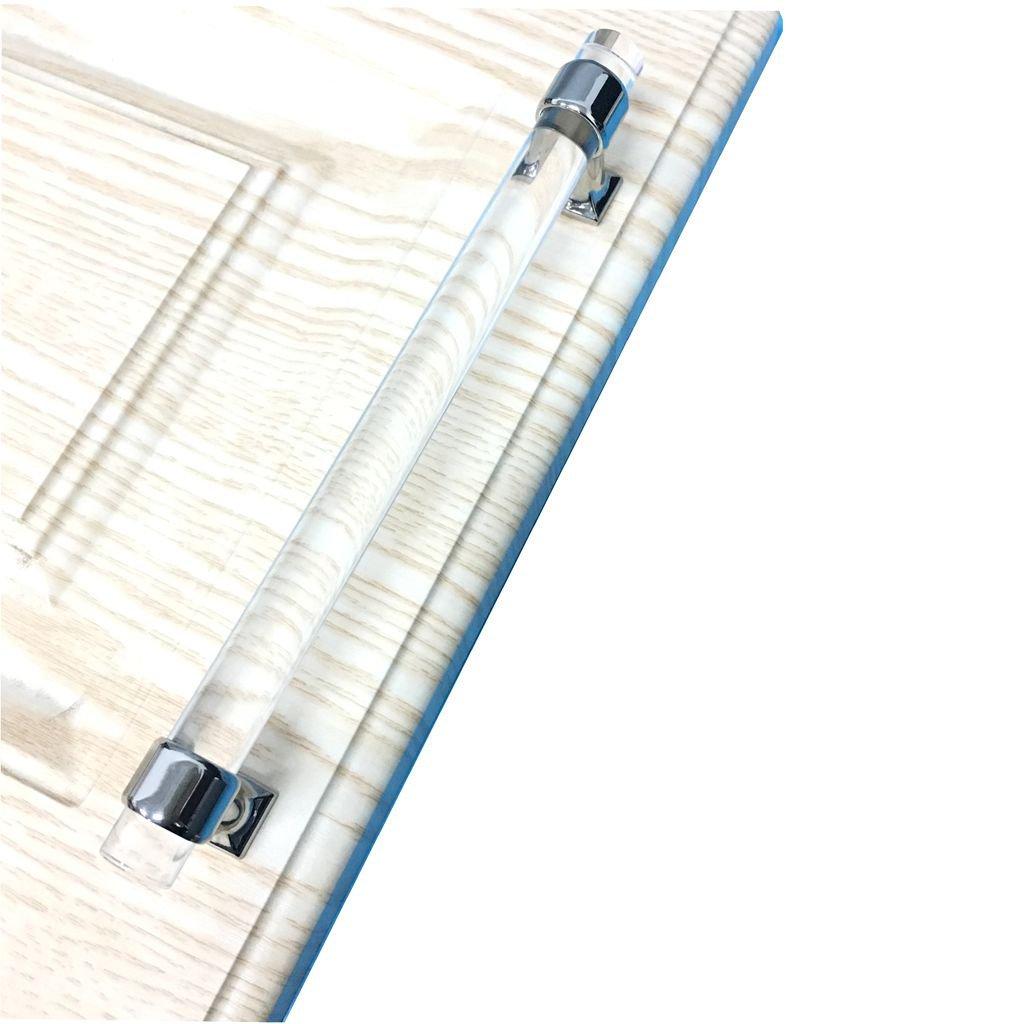 Acryl Transparente Möbelgriffe Kleiderschrank Schrank Griffe Tür Griff 160mm