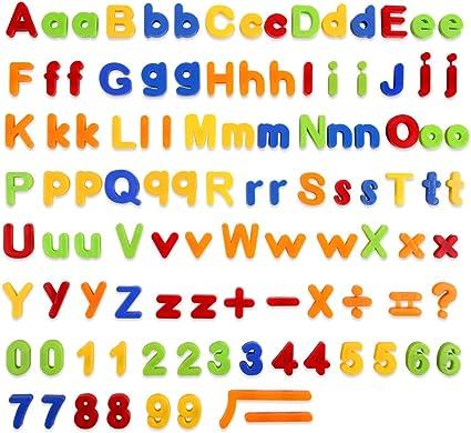 Magnet Zahlen Nummern Magnet Buchstaben Magnete Kinder-Toys 1x neu