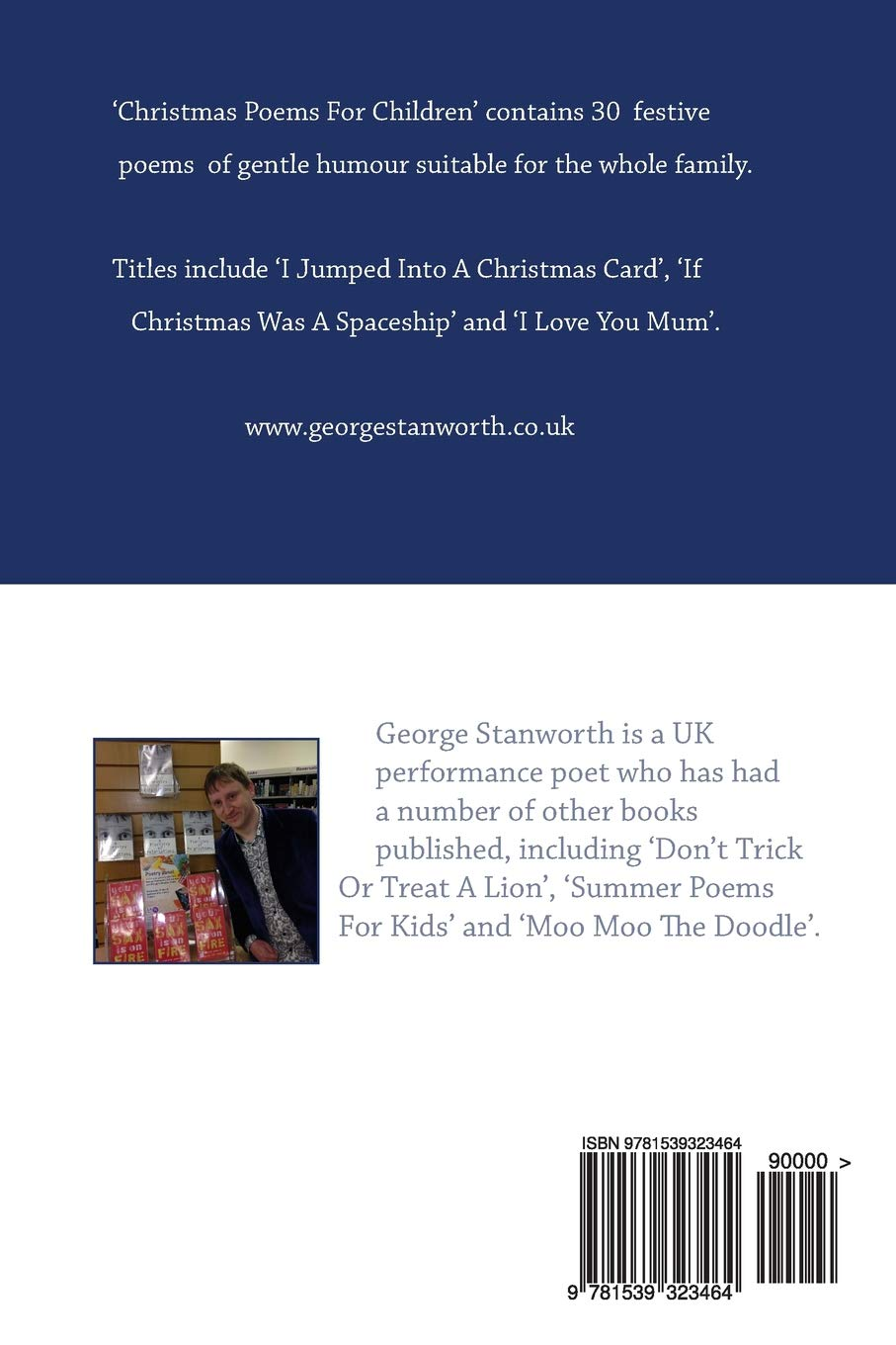 Christmas Poems For Children (2nd Edition): Amazon.co.uk: George ...