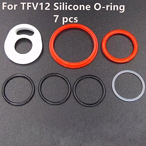 5 Sets TFV12 Oring Silicone Seals Gasket Cloud Beast O Rings Rubber Bands (5 Sets TFV12 Oring) by karmo