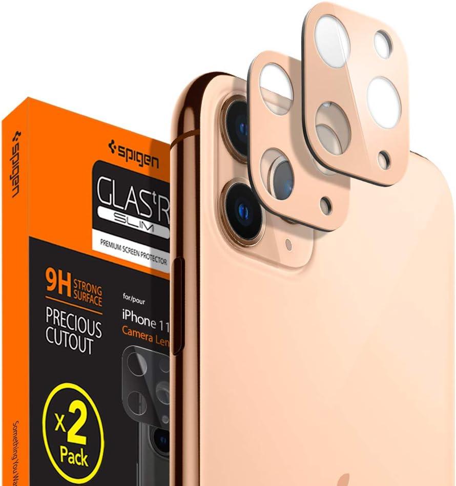 Protector De Lentes iPhone 11 Pro/pro Max Spigen dorado
