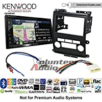 Volunteer Audio Kenwood Excelon DNX694S Double Din Radio Install Kit with GPS Navigation System Android Auto Apple CarPlay Fits 2009-2012 Nissan Frontier, Xterra