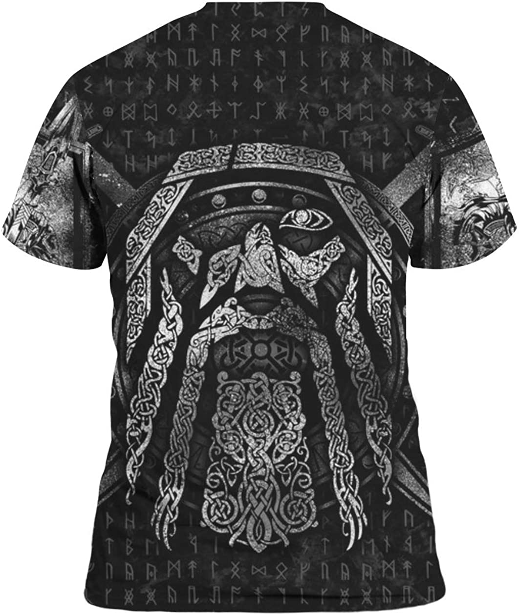 Viking Odin 3D All Over Sublimation Printing Shirt