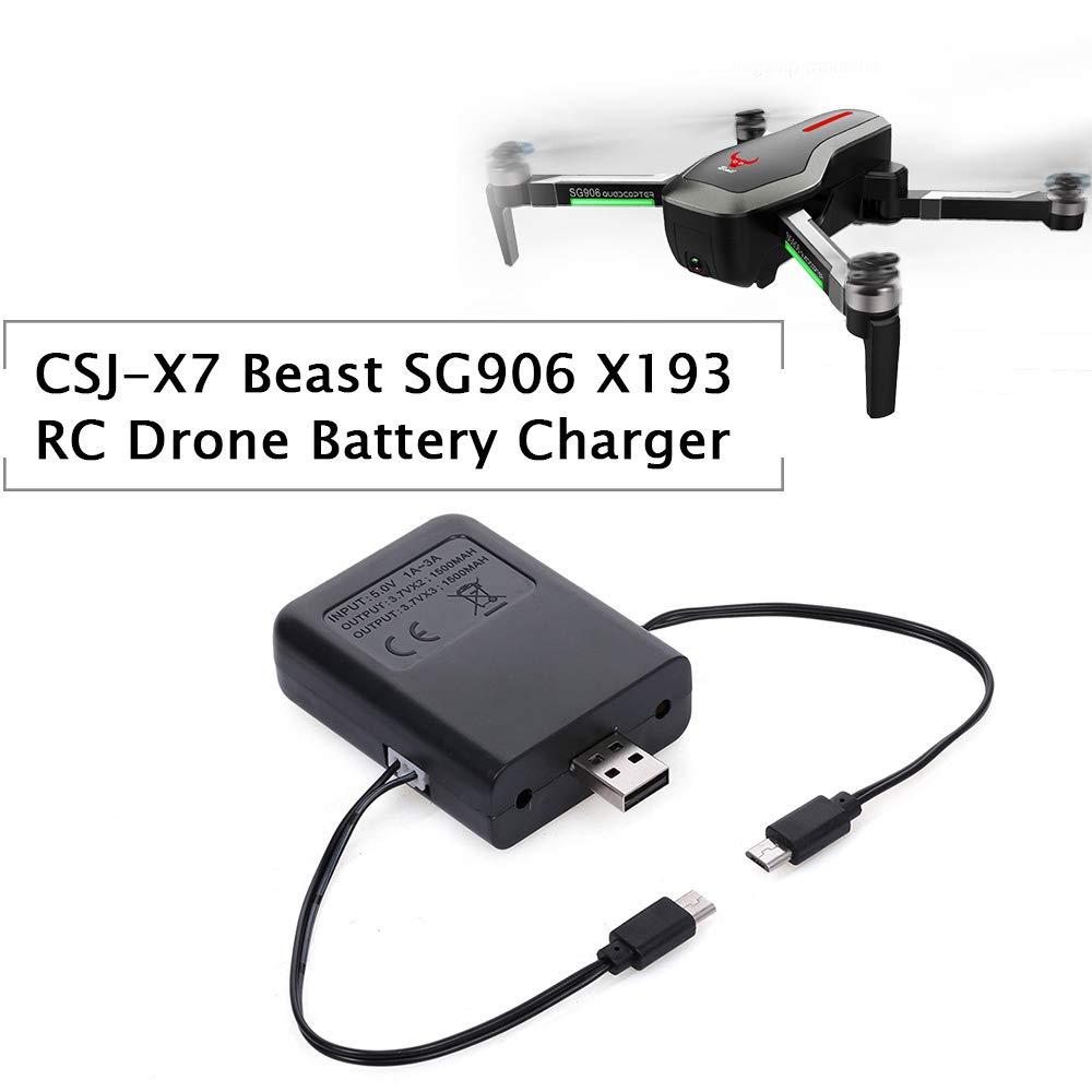 Godyluck 2 en 1 Drone Cargador de batería para CSJ-X7 Bestia ...