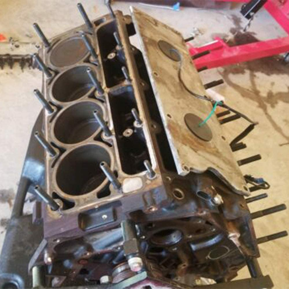 GaofeiLTF Cylinder Head Stud Bolt Kit Fits for 1997-2003 Chevy LS1 LS6 LS2 LQ9 4.8L 5.3L 5.7L 6.0L Engine