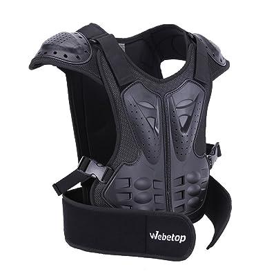 Webetop Kids Dirt Bike Body Chest Spine Vest Protective Gear for Snowboarding M: Automotive