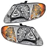 Best Headlight For Replacements - Driver and Passenger Headlights Headlamps Replacement for Dodge Review