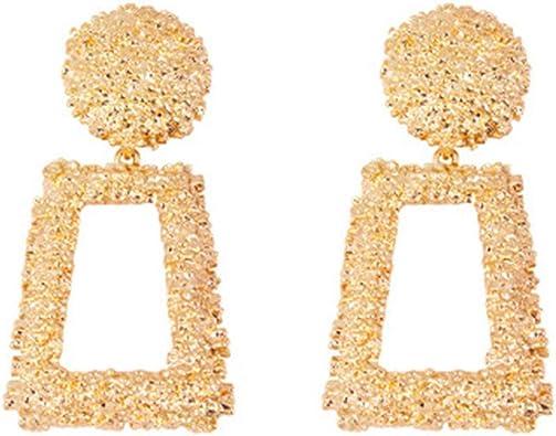 Akoya Jewellery 2 colors Large Wide Circle Drop Earrings