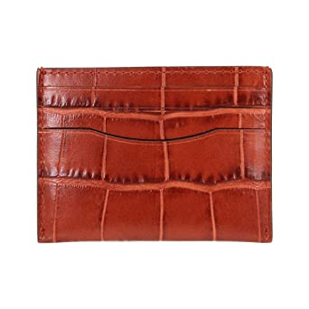 8d3db94890 Amazon.com: Coach Men's Small Leather Card Case 26008AKR: Watches