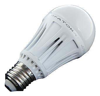 Patona 4106 12 W E27 A Weiß Kalt Led Lampe Weiß Kalt Weiß A 6 Cm 123 Cm Aluminium Glas Metall