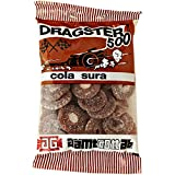 50 Bags x 50g of Dragster 500 Cola Sura - Original - Swedish - Cola Sour - Wine Gums - Candies - Sweets