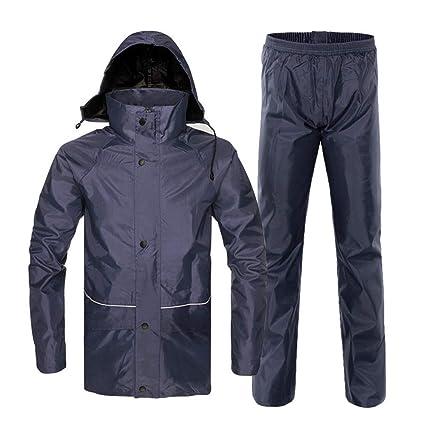 Chubasquero Unisex Mujer Hombre Impermeable chaqueta de ...