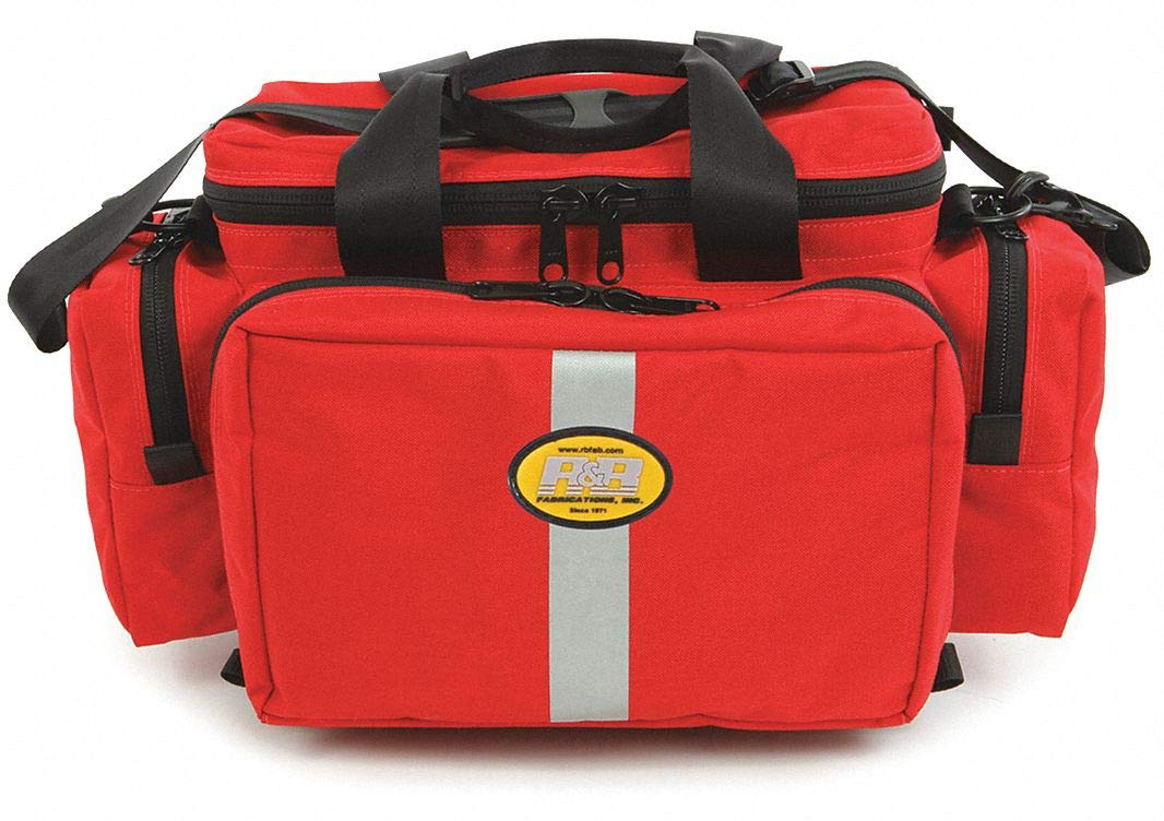 Trauma Bag, Red, 18'' L by R&B Fabrications (Image #1)