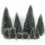 Department 56 Accessories for Department 56 Village Collections Bag-O-Frosted Topiaries Tree