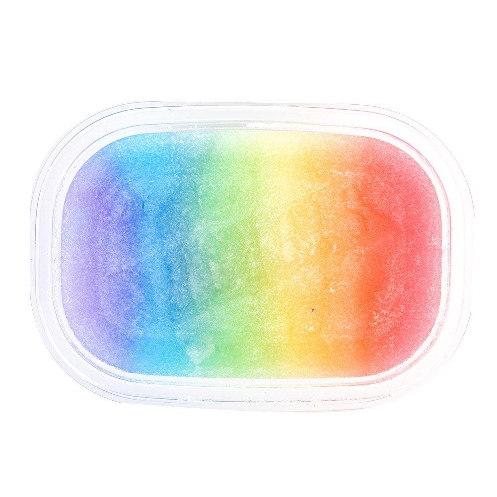 Yovvin Fluffy Slime Coloré Magique Bricolage Soulagement du Stress en Argile Jouet Aucun Borax et Non Toxique Parfumée pour Enfants et Adultes