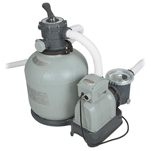 96 opinioni per Intex- Pompa di filtraggio a sabbia per piscine fuoriterra e interrate, 10.000