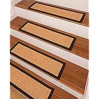 NaturalAreaRugs Ernest Sisal Carpet Stair Treads - Set of 13-9x 29