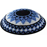 Zion Judaica Knit Quality Kippot for Affairs or Everyday Use Single or Bulk Orders - Optional Custom Imprinting Inside for Any Event