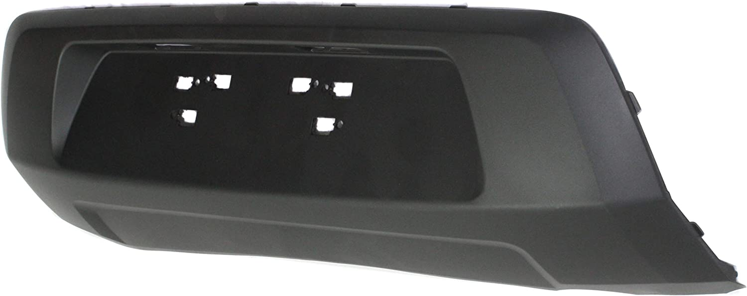Rear Center BUMPER COVER Textured Direct Fit OE REPLACEMENT compatible with 2012-2013 Kia Soul