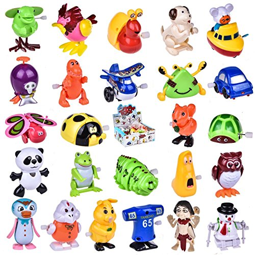 Wind up Toys 25 pcs Assorted Toy Animal