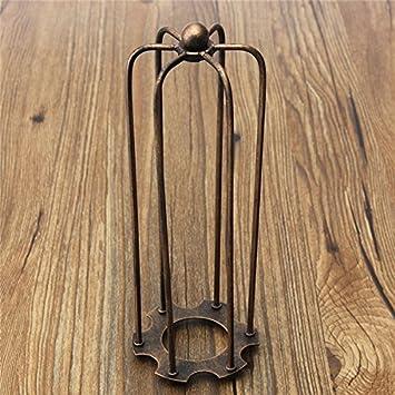 MASUNN 230mm Diy Vintage Pendelleuchte Lampe Schutz Drahtkäfig Decke ...