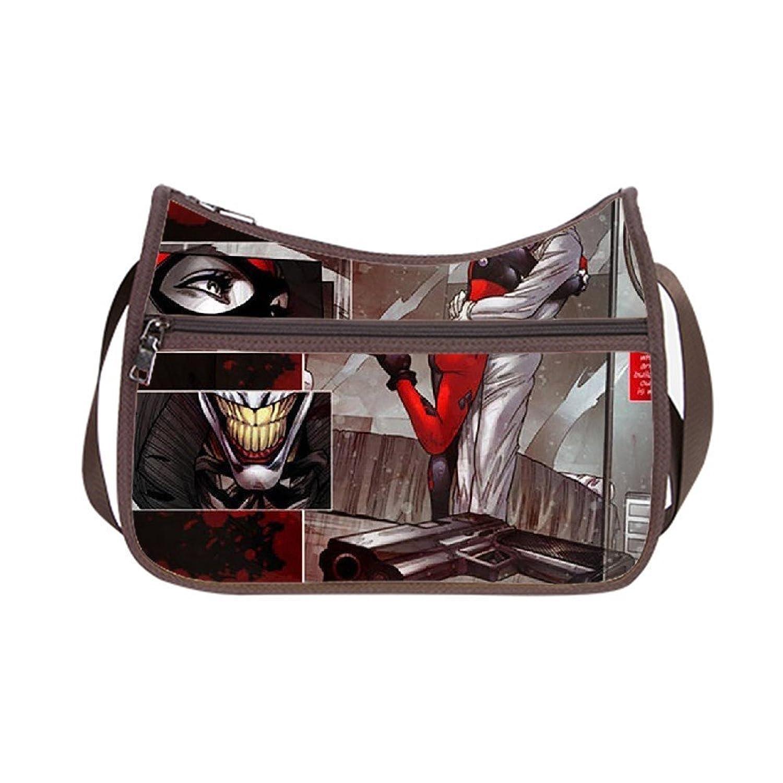 Angelinana Custom Joker Harley Quinn Messenger Bag Shoulder Bag Casual Bags