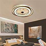 Deckenventilator mit Beleuchtung, Fan Deckenventilator LED