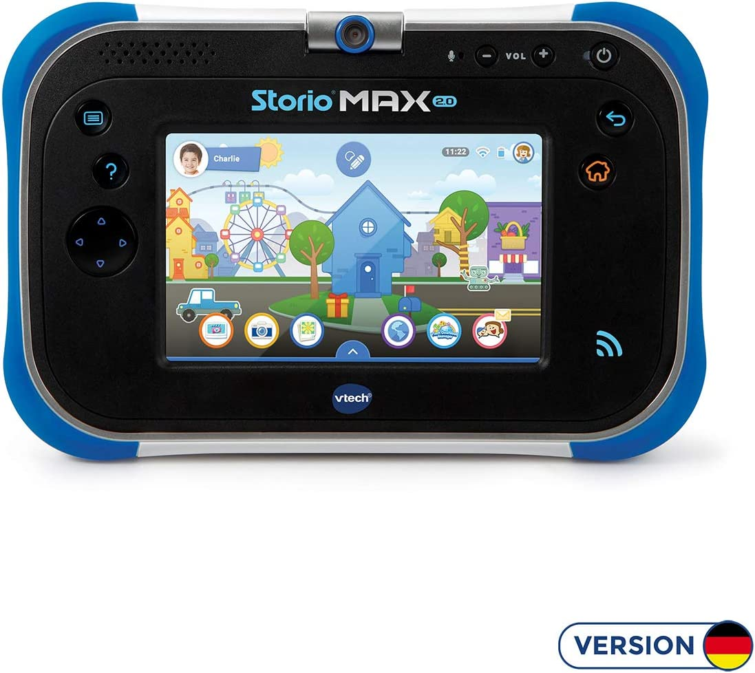 Amazon.es: VTech MAX 2.0 8 GB Negro, Azul - Tablets Infantiles (8 ...