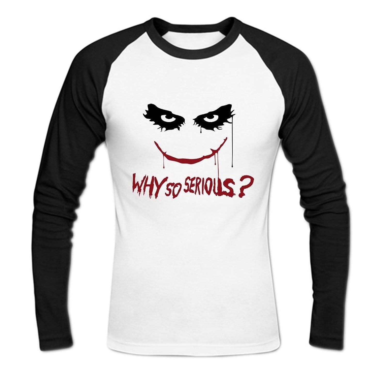 Why so serious Mens Baseball Shirts