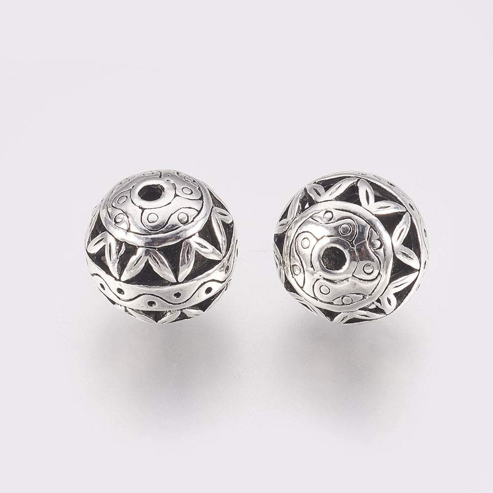 Free Ship 50Pcs Tibetan Silver Butterfly Spacer Beads Jewellery Findings 15x11mm