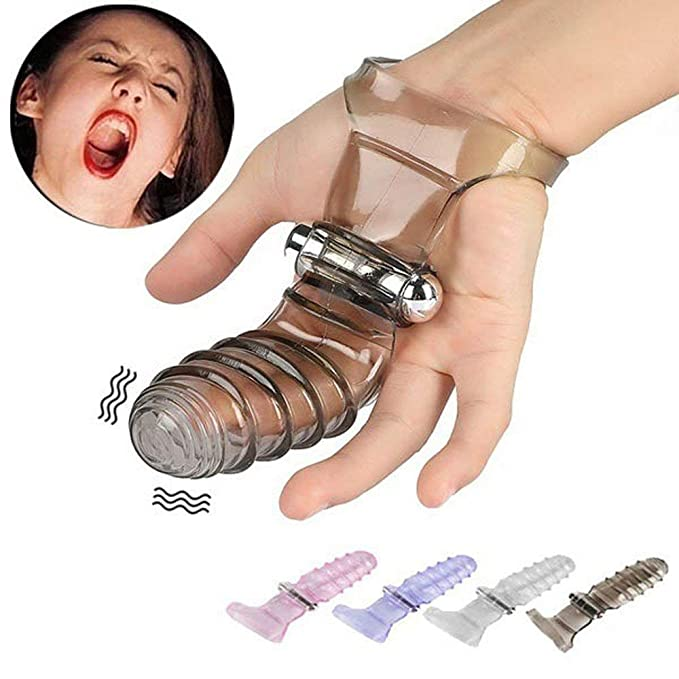 POLP Anillo vibrador masajeadores anales masajeador de Clitoris Juguetes Sexual para Hombre Mujer Juegos sexuales Masturbación de vibración Masaje de Dedo ...