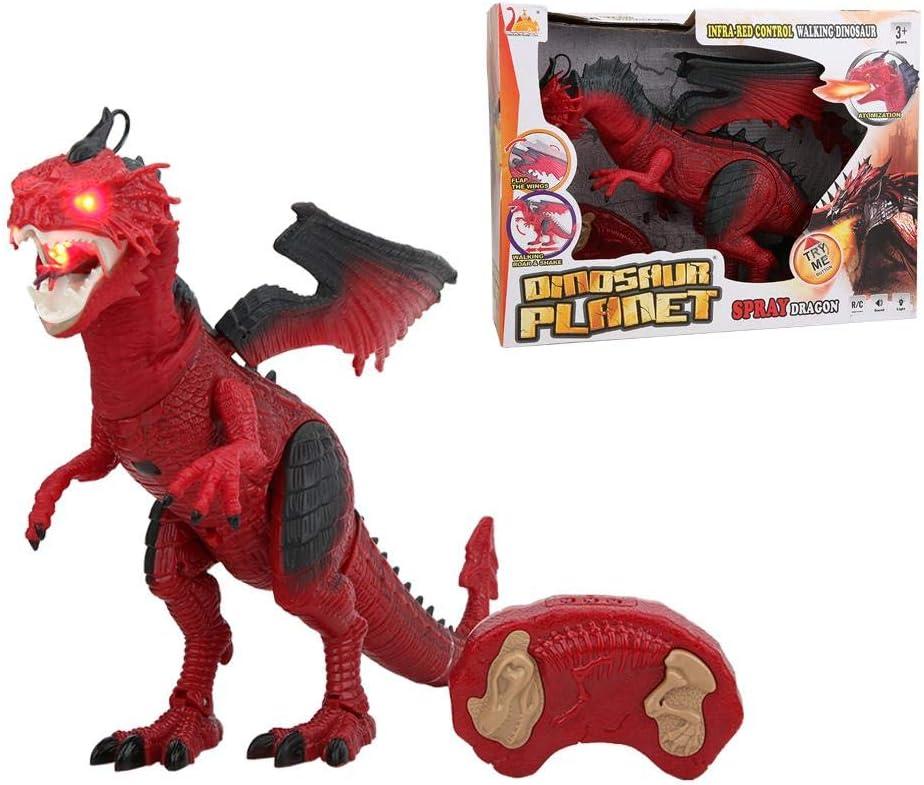 REX Action Figure in plastica o Si ripeta Tyrannosaurus Rex Dinosauro Giocattolo piumato T