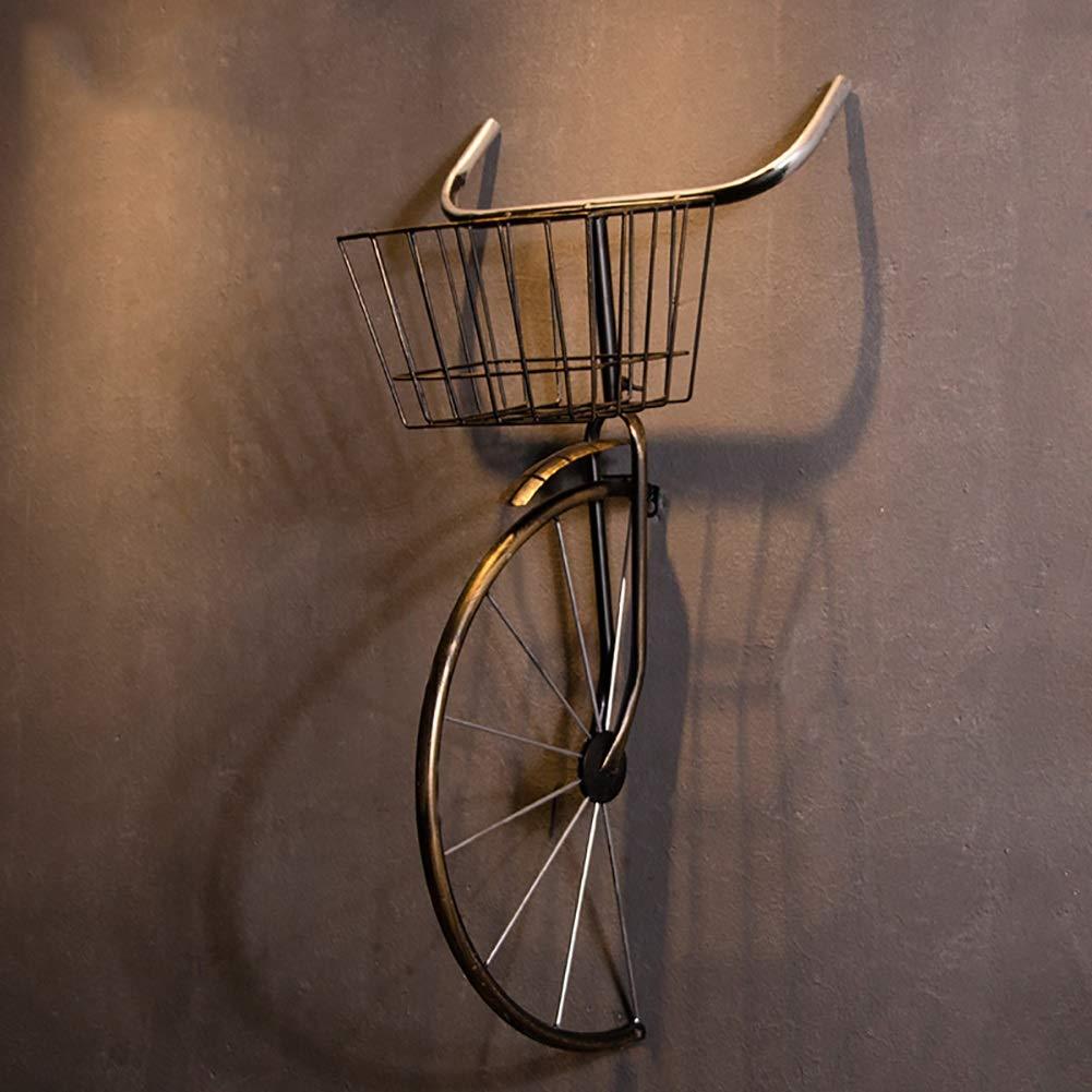 QBDS Decorazione Vintage da Parete Vintage in Ferro battuto per Biciclette Decorazione da Bar Ristorante Ciondolo Decorativo (Colore : A) YU