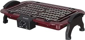 شواية كهربائية 2200 وات من زادا، Zg-200 - احمر اسود