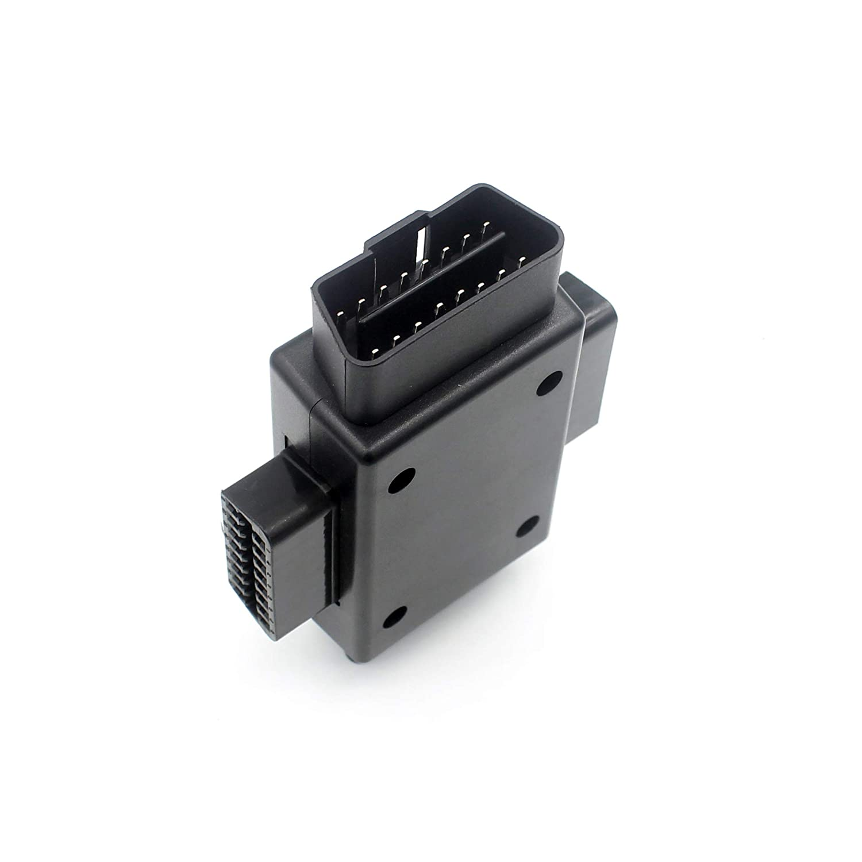 OBD2 16 Pin 1 Macho a 3 Hembra Adaptador de diagn/óstico Conector para reparaci/ón de Auto o inspecci/ón de Coche LoongGate OBD II Adaptador 1 a 3