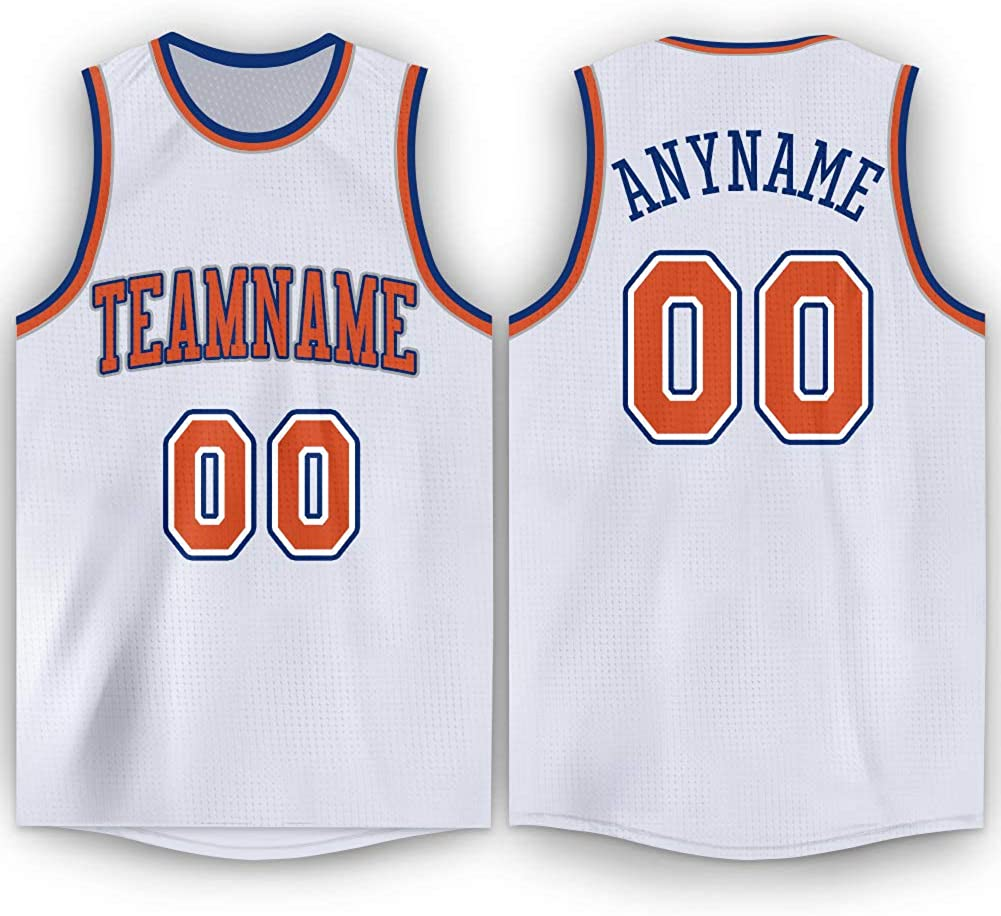 FIITGCUSTOM Custom Basketball Jersey Custom Stitched or Printed Basketball Team Jersey for Men Women and Youth