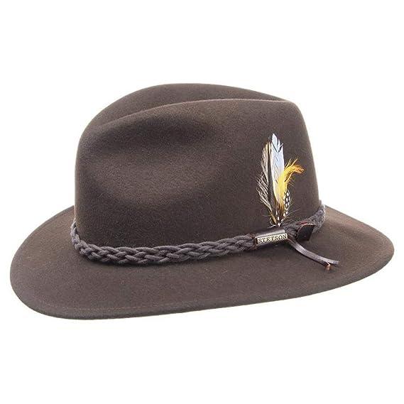Stetson Newark VitaFelt Outdoor Hat felt men´s  Amazon.co.uk  Clothing 176199f3c18b