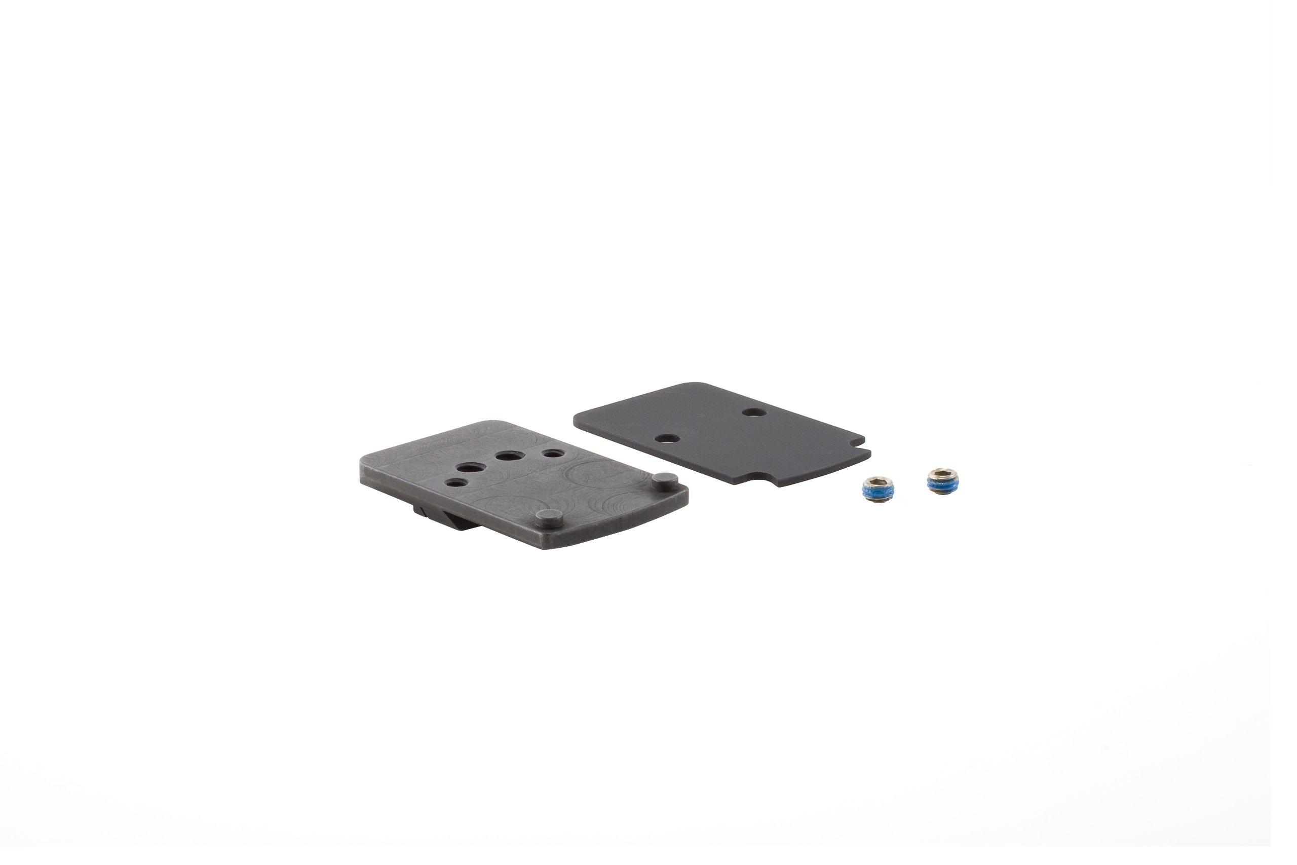Trijicon RM45 RMR Pistol Mount, S&W M&P/SD9 Ve/SD40 Ve/ Models (Excluding M&P Shield & Core Series), black