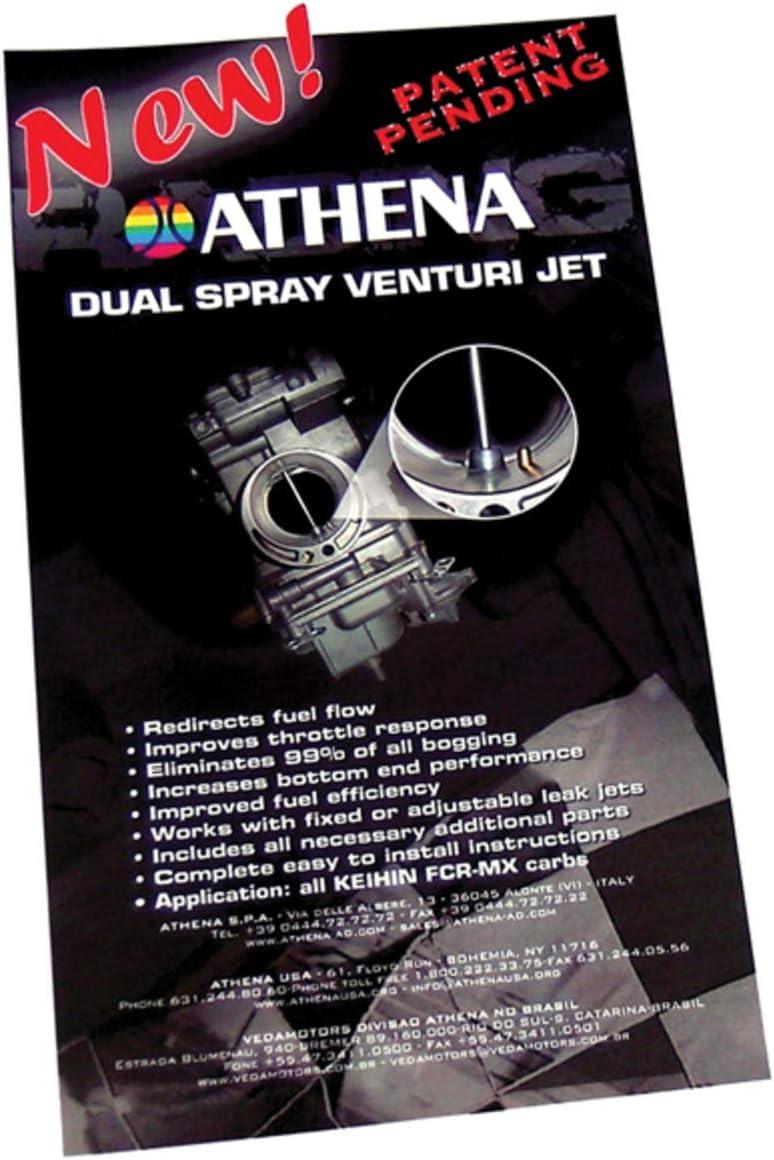 Athena Dual Spray Venturi Jet Kit for Keihin FCR-MX Carburetors ...