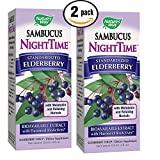 Cheap Sambucus Night Time Elderberry Syrup with Standardized BioActives, Melatonin & Relaxing