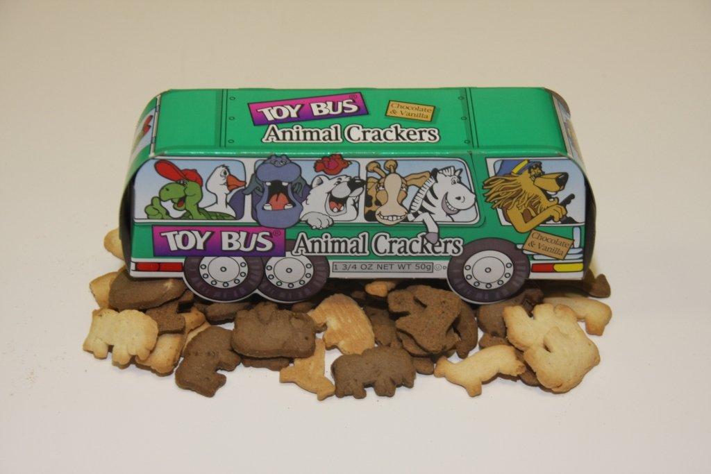 Toy Bus Animal Crackers (24 ct)