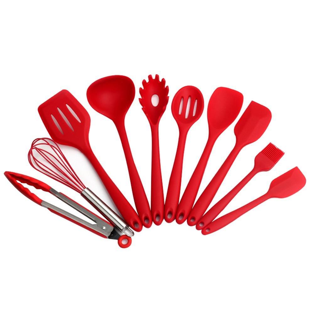 AOLVO Küchenutensilien aus Silikon, Kochutensilien Silikon ...